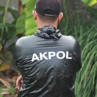 baju sauna olahraga akpol baju jaket olahraga akpol
