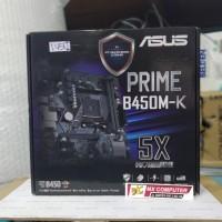 Motherboard ASUS PRIME B450M-K (AM4, B450, DDR4, USB3.1, SATA3)