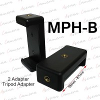 Phone Holder U Attanta Clamp Universal Holder Android IOS - Hitam