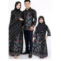 Couple Batik Keluarga Set Anak Cewek Baju Seragam Batik Sarimbit
