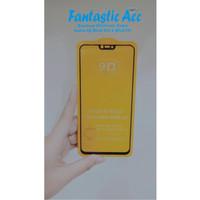 Vivo V9 Tempered Glass Full Lem 9D Temper Glass Anti Gores Kaca