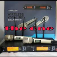 PROMO MIC WIRELESS SENNHEISER SKM 9000 4 antena kualitas bagus