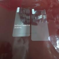 Tempered glass Asus Zenfone 3 laser 5.5 ZC551KL anti gores kaca bening