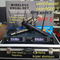 Mic Wireless SENNHEISER SKM 9000 MK II 4 antena free Koper