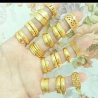 CINCIN Lapis emas 24k (SEPUHAN)