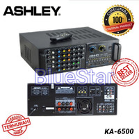 Jual Amplifier Karaoke Ashley KA 6500 Original Berkualitas