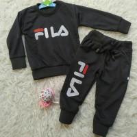 Baju Momina Setelan Anak Perempuan Babyterry Fila - Size S