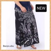 pakaian muslim pria celana sarung dewasa etnik motif banyu abu