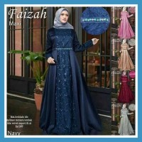 Baju Gamis Navy / Busana Muslim / Baju Muslim #80820 STD