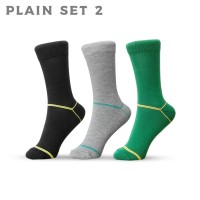 Plain Set 2 -Kaos Kaki AGF