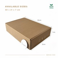Box Packaging (30.0x21.0x7.0 cm) Kardus Premium Ready Stock