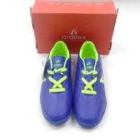 Sepatu futsal ARDILES art FSAS VIRTUOSO FL-TG BIRU ROYAL/HIJAU CITRON