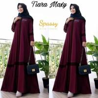Baju Gamis Syari Wanita Terlaris Tiara Maxi Dress Muslim Termurah