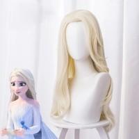 Wig Frozen 2 Elsa Dua ll Aksesoris Rambut Palsu Anak Cosplay Princess