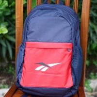 ORIGINAL Reebok Sport Backpack Gym Travel Bag Tas Pria Olahraga