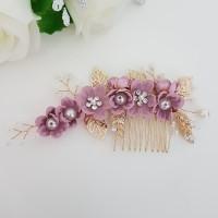 Hiasan Rambut Bunga Aksesoris Sanggul Pesta Pengantin Wedding S12A