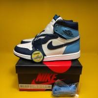 "Nike Air Jordan 1 Retro High UNC Leather White Blue"" PK Version"