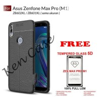 Case Asus Zenfone Max Pro M1 FREE TEMPERED GLASS - Auto Focus Softcase
