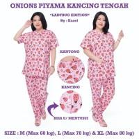 Onions Piyama Kancing Tengah - Celana Panjang