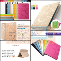 iPad Mini 1/2/3 Luxury KAKUSIGA Circle Smart Flip Cover / Case - Putih