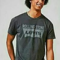 Kaos Baju T-Shirt Distro Terlaris Termurah Levis Rolling Stone