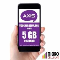 Voucher Kuota AXIS AIGO 5 GB (15 Hari) - Kuota Reguler 24 Jam