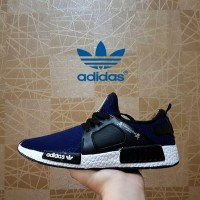 sneakers pria adidas boost NMD XR1 navy premium - Casual sport pria