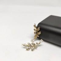 Fifi Fashion Anting Yaxiya Rambat Jalar Bunga Lilit Xuping