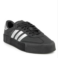 Sepatu Sneakers ADIDAS Originals Sambarose w Black Hitam