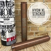 New Authentic Hyon XL Classic Bronze Hyon Stacked Mechanical Mod