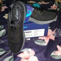 Asics Gel Kenun MX sepatu lari ASIT838N9090 Black BNIB