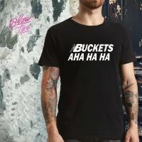 Kaos Baju Obral Combed 30s Distro Nbuckets Aha Ha Ha Kawhi New Balance