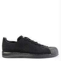 Sepatu Sneaker Pria ADIDAS Hitam Original Superstar Bounce Primeknit