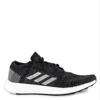 Sepatu Sneakers ADIDAS Hitam Abu Abu Original Pureboost Go
