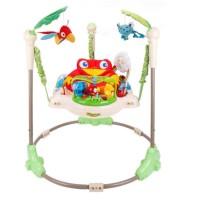 Mainan Bayi Jumperoo Rainforest Baby Elle Fisherprice Bouncer Jumper
