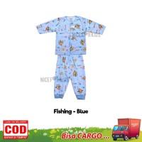 Tokusen Setelan Baju Bayi Lengan Panjang / Baju Bayi Newborn