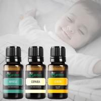 Paket Batuk Pilek Essential Oil Our Garden Aroma Terapi Untuk Bayi