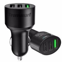 Tronsmart 42W Qualcomm Quick Charge 3.0 VoltiQ USB Port Car Charger