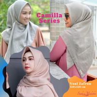 Hijab voal bahan zafron premium murah adem ukuran 120x120