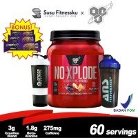 BSN NO Xplode Explode 3.0 60 serving