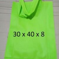 uk 30x40 tas kain   spunbond   tas bahan  tas souvenir  polos