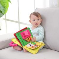 [ONELA] 3D Buku Kain Bayi Mainan Soft Book Baby Bantal Cerita Softbook