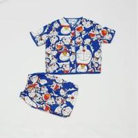 Piyama anak 1 - 5 Tahun / Baju tidur anak bahan katun catra motif