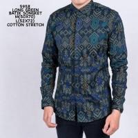 Baju Kemeja Formal Batik Songket Kantor Cowok Kemeja Santai
