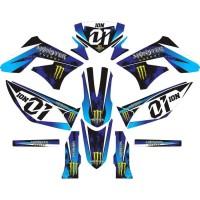 DECAL KLX BF HUSQ CRF KTM KSR dll Premium Laminasi Tebal + Stabilo