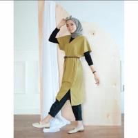 Baju Atasan Wanita Terbaru Lidya Tunik Termurah Blouse Murah Terbaru