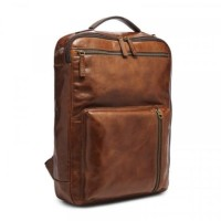 Tas ransel pria Fossil buckner backpack cognac 100% original