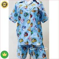 Baju Tidur Setelan Dewasa Pajamas Tayo The Little Bus Piyama