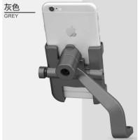 holder hp full metal besi aluminium spion