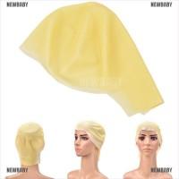 [BABY] Adult Bald Cap Latex Flesh Skin Bald Head Wig Cap Rubber